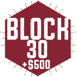 Lincoln Center Block 30 + $500 DB (Summer)